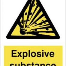 Explosive substance, what is Explosive substance, Explosive substance explanation, Explosive substance description,